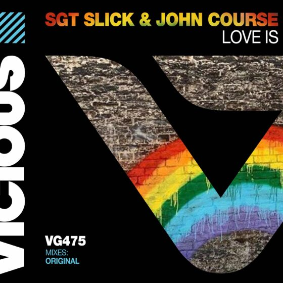 MUSIC RELEASE ..LOVE IS BY SGT SLICK & JOHN COURSE