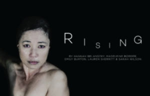 A Playlab Theatre production  Presented in association with Metro Arts  RISING