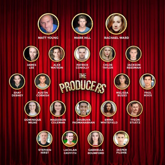 REHEARSALS FOR THE PRODUCERS ARE NOW HAPPENING IN BRISBANE POWERHOUSE