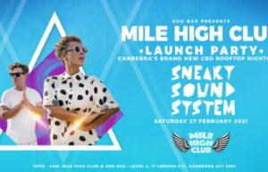 CANBERRA'S BRAND NEW CBD ROOFTOP NIGHTCLUB: MILE HIGH CLUB @ ZOO BAR LIFTS OFF FEB 27TH
