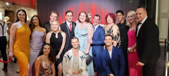 THE PRODUCERS GETS  HAS STANDING OVATION AND IS THE TALK OF THE TOWN BRISBANE