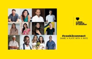 #Cook2Connect: Manu Feildel leads A-list culinary lineup for new campaign to support OzHarvest
